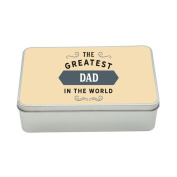 Dad Gift, Greatest Dad, Perfect Dad Christmas Present or Birthday Tin