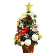Covermason Mini DIY Christmas Tree With Light, Xmas Window Desk Shop Party Holiday Decor