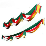 Sixcup 3 Metres/9ft 25cm Christmas Decoration Home Bunting Banner Garland Props Flag