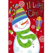 Sixcup Merry Chrismas Garden Flags House Decor Mini Yard Banner 30cm x 46cm