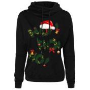christmas decorations sale clearance Hirolan Women Christmas Letter Print Top Coat christmas hooded sweatshirt jumper christmas pullover x-mas shirt christmas gifts dress up long sleeve blouse
