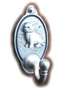 Sitting Terrier Dog Key Hook (EXCLUSIVE DESIGN . Lead Hook