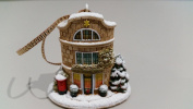 Lilliput Lane Christmas At Lechlade, Made In England
