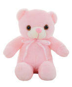 Good Night Luminous Bear Shape Hugging Toy for Kids Gifts Christmas Decorations