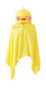 Good Night Yellow Duck in Pink Cheek Stuffed Animal Shawl