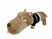 Good Night Super Cute Plush Toy Big Head Bulk Dog Pillow Doll for Children, 30cm