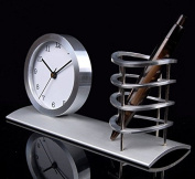 GFEI Pure metal office supplies, clocks, penholder / home decoration, fashion watches, Aluminium handicrafts, stationery, gifts