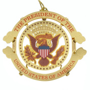 US President Donald Trump Presidential Seal Christmas Tree Ornament