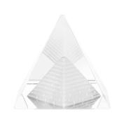 Crystal Pyramids Figurine, Pyramids Figurine Statue Model Silver, Feng Shui Crafts Pyramids Gift