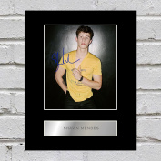 Shawn Mendes Signed Mounted Photo Display