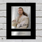 Liam Neeson Signed Mounted Photo Display Star Wars