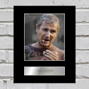 Liam Neeson Signed Mounted Photo Display The A-Team