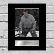 Liam Neeson Signed Mounted Photo Display The Grey