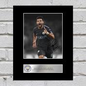 Sergio Aguero Signed Mounted Photo Display Golden Manchester City Top Scorer