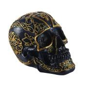 XZX Home Resin Skeleton Skull Decoration