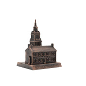 Metal Independence Hall Model Replica Pencil Sharpener