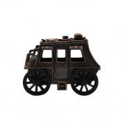 Metal Stagecoach Replica Novelty Toy Desk Pencil Sharpener