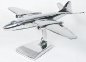 Aluminium Canberra Jet Aeroplane Aircraft Model 39cm Wing Span Twin Engine