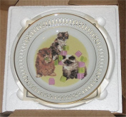 Bing & Grondahl The New Generation Kittens Marilyn Leader Collectors Plate (Box + COA) - New