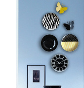 LGK & FA Abstract Space Elegant Nordic Modern Abstract Style Decorative Hanging Plate Suit / Fashion Wall Plate