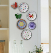 LGK & FA The Pastoral Department Wall Decoration Wall Decoration / Ceramic Disc Disc Mural.