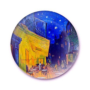 LGK & FA European Style Decorative Wall Painting Home Furnishing Background Van Gogh Disc Art Hanging Plate Plate Ceramic Plate 001 25cm