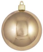Christmas By Krebs 10cm Shatterproof Ball (1), Gilded Gold, 10cm