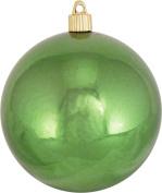Christmas By Krebs 12cm Shatterproof Ball (1), Limeade, 10cm - 1.9cm