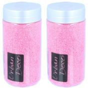 1.2kg Petal Pink Decorative Coloured Sand - Wedding Table Decoration/Arts & Crafts
