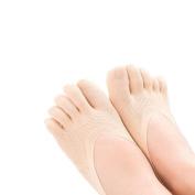 Women's Low Cut Thin Five Fingers Ankle Socks 4-Pack, #A 7