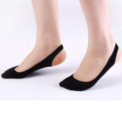 Women's Soft Low Cut Invisible High Heel Socks Half Insoles Pads, #A 6