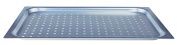 Pentole Agnelli alma182 F20 Teglia Gastronorm Perforated Alloy 3003, 2 cm, Aluminium, 53 x 32.5 x 2 cm