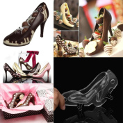 Bovake 3D High Heel Shoe Chocolate Mould Candy Cake Jelly Mould Wedding Decorating DIY