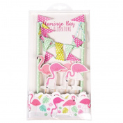 Flamingo Bay Cake Bunting