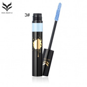 HEHILARK Mascara Waterproof Colourful Mascara Women Natural Eye Makeup Lengthening Thick Curly Mascara Cosmetic Beauty Tool Waterproof Colourful Eye Makeup Lengthening Thick Curly Mascara Tool