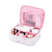 Lalang Women's Make Up Bag Travel Cosmetic Pouch Wash Bag Toiletry Beauty Organiser