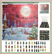. Minifigure Lego City Mini Figure Toy Advent Calendar