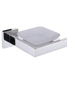 XY & XH Soap Dish Holder, Contemporary Stainless Stell Mirror Polished Wall Mounted Soap Dishes