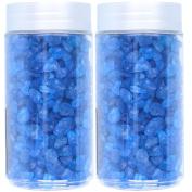 1Kg Of Ocean Blue Glass Stones - Decorative Vase/Flower/Plant Pot Filler Rocks