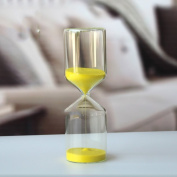 cylinder 30 minutes Clocks Hourglass glass Home decoration my friends-A