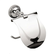 HZZymj-Contemporary Wall Mount Silver Chrome Finish Solid Brass Toilet Roll Holders