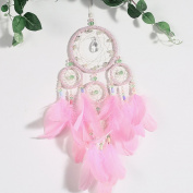 Dream Catcher, Outgeek Hanging Feathers Ornament Wind Chimes Handmade Wall Hanging Decor for Wedding Party