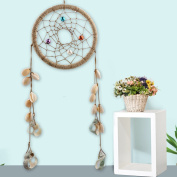 A-SZCXTOP Handcraft Conch Dream Catcher Handmade Gift and Great Room Wall Decoration