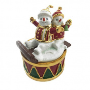 Christmas Musical Snowman - Snowmen on Sleigh