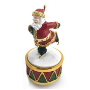 Christmas Musical Santa - Santa on Ice Skates