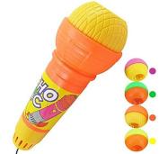 ningteng Children Echo Microphone Mic Voice Changing Toy Gift Random Colour