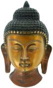Kapasi Handicrafts Brass Buddha Head Wall Hanging S