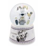 Christening Day Snow Globe (7cm x 9cm)