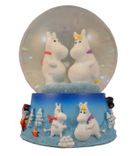 Moomin Large Snowglobe Waterball Decoration - 85 mm