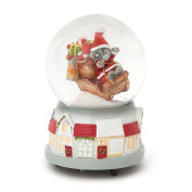 Me To You Bear Musical Snow Globe